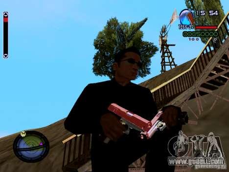 Ice Weapon Pack for GTA San Andreas ninth screenshot