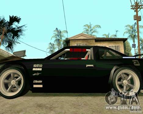 Hotring Racer Tuned for GTA San Andreas side view