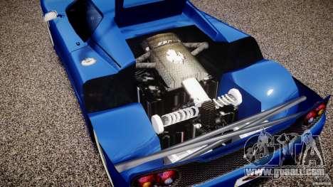 Ferrari F50 Spider v2.0 for GTA 4 back view
