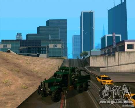 KrAZy Crocodile for GTA San Andreas left view