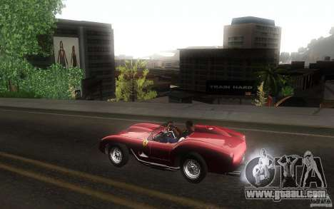 Ferrari 250 Testa Rossa for GTA San Andreas left view