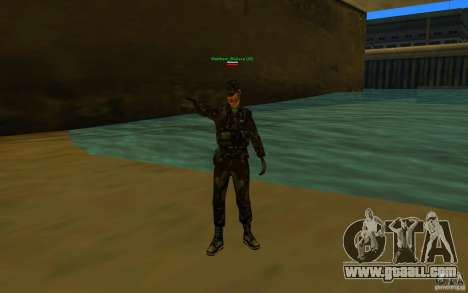 HQ skin Army for GTA San Andreas second screenshot