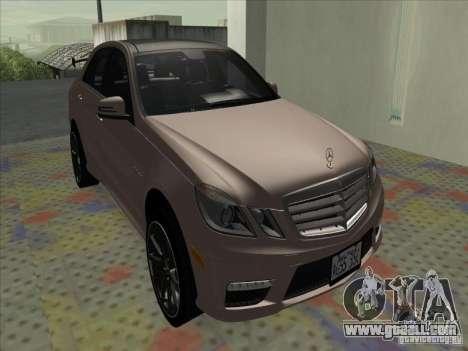 Mercedes-Benz E63 AMG Black Series Tune 2011 for GTA San Andreas left view