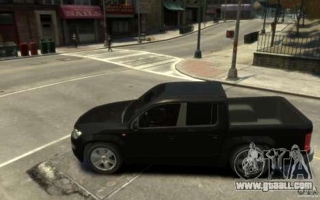 Volkswagen Amarok TDI 2011 for GTA 4 back left view