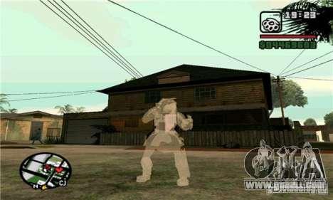 Effects of Predator v 1.0 for GTA San Andreas second screenshot
