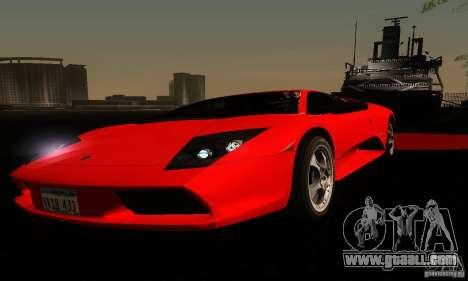 Lamborghini Murcielago for GTA San Andreas bottom view