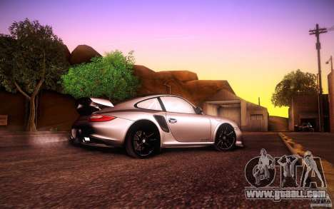 Porsche 911 GT2 RS 2012 for GTA San Andreas back view