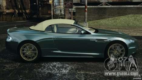 Aston Martin DBS Volante [Final] for GTA 4 left view