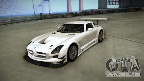 Mercedes-Benz SLS AMG GT3 for GTA San Andreas inner view