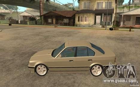 BMW 535i e34 AC Schnitzer for GTA San Andreas left view