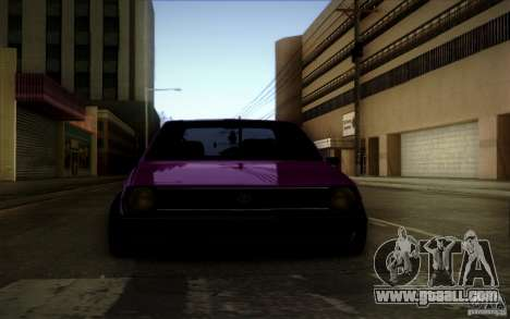 Volkswagen Polo Pickup for GTA San Andreas back view