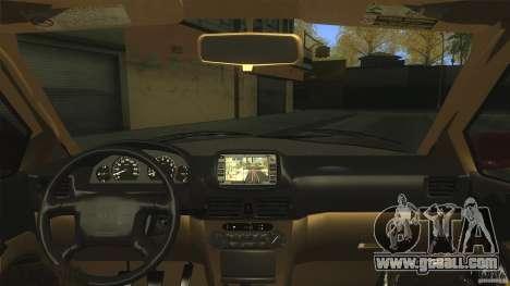 Toyota Corolla G6 Compact E110 EU for GTA San Andreas right view