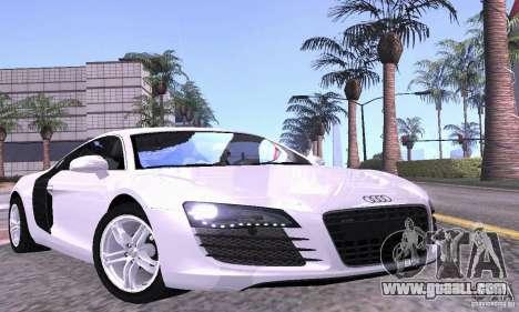 Audi R8 4.2 FSI for GTA San Andreas interior