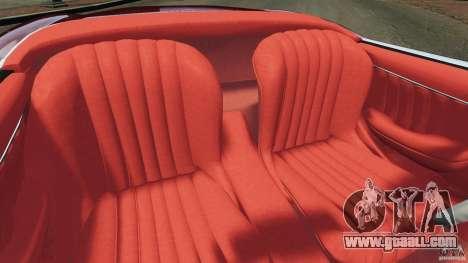Mercedes-Benz 300 SL Roadster v1.0 for GTA 4 inner view
