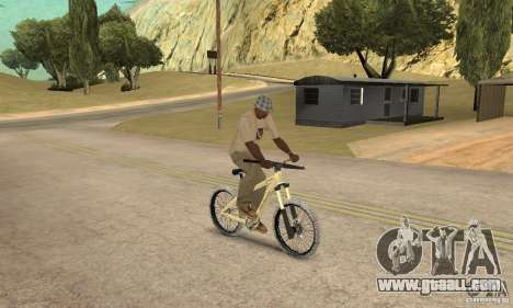 Specialized P.3 Mountain Bike v 0.8 for GTA San Andreas right view
