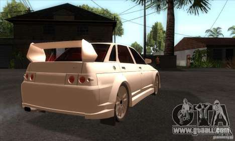 VAZ 2110 WRC for GTA San Andreas right view