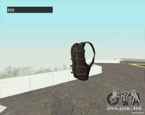 Black Ops Parachute for GTA San Andreas second screenshot