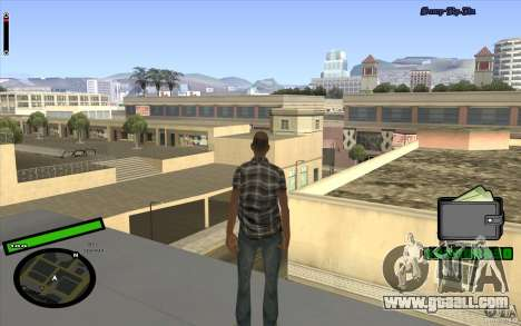 New HUD for GTA San Andreas forth screenshot