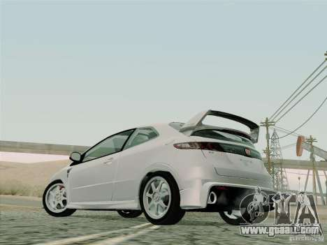 Honda Civic TypeR Mugen 2010 for GTA San Andreas side view