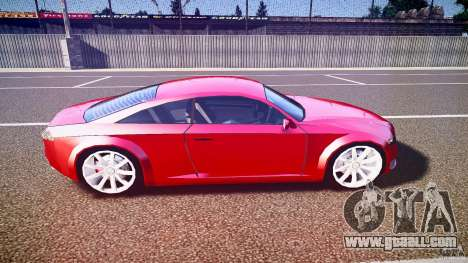 Audi Nuvollari Quattro for GTA 4 side view