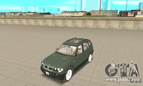 BMW X3 2.5i 2003 for GTA San Andreas