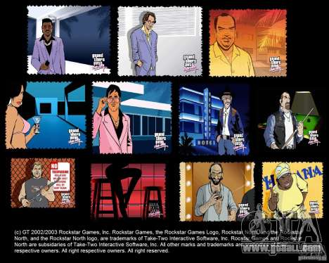 The New Boot Screen HD for GTA Vice City