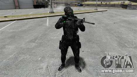 Sam Fisher v10 for GTA 4 forth screenshot