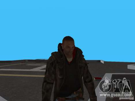 James Heller from Prototype 2 for GTA San Andreas second screenshot