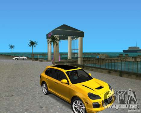 2009 Porsche Cayenne Turbo for GTA Vice City
