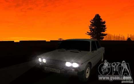 VAZ 2106 Tyumen for GTA San Andreas upper view