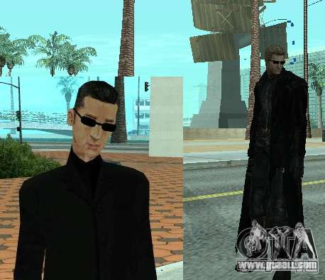 Pak characters from Resident Evil for GTA San Andreas third screenshot