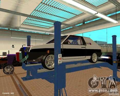 VAZ 2108 Drag for GTA San Andreas engine