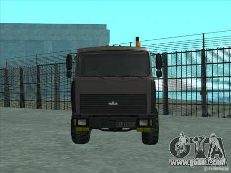 6317 MAZ manipulator for GTA San Andreas