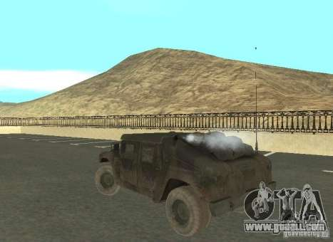 Hummer Cav 033 for GTA San Andreas right view