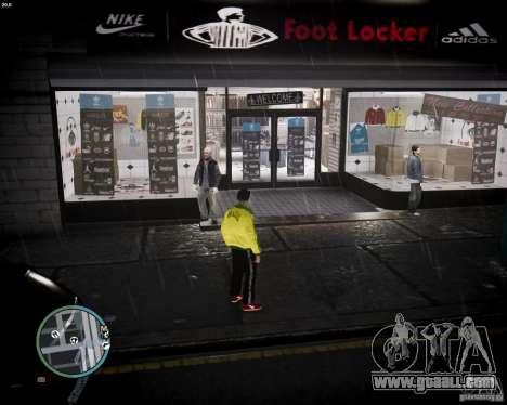 Foot Locker Shop v0.1 for GTA 4