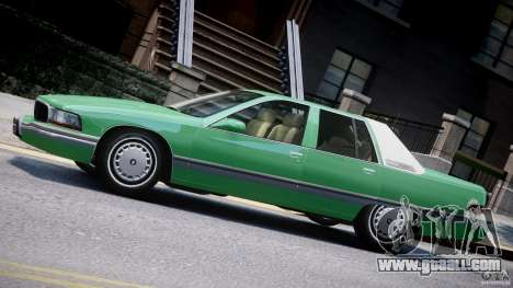Buick Roadmaster Sedan 1996 v1.0 for GTA 4
