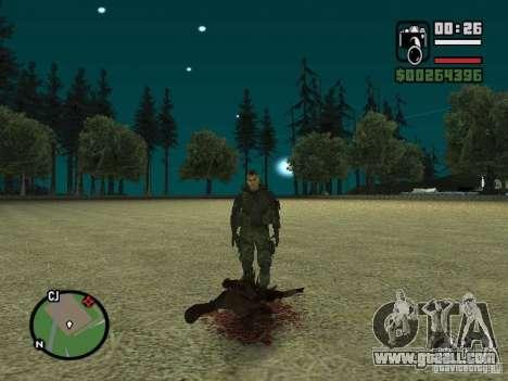 Chupacabra for GTA San Andreas eighth screenshot