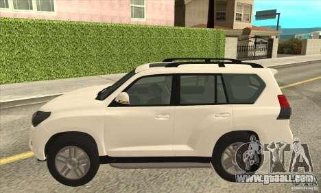 Toyota Land Cruiser Prado 150 for GTA San Andreas left view