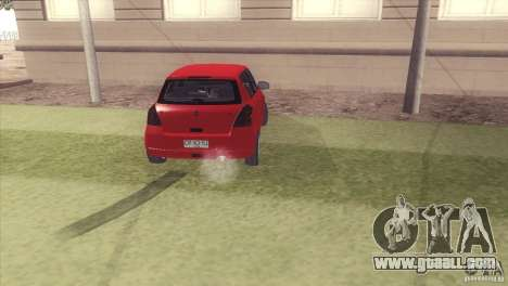 Suzuki Swift versión Chilena for GTA San Andreas left view
