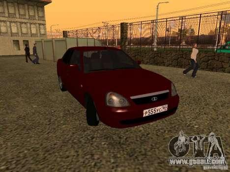 LADA 2170 Premier for GTA San Andreas