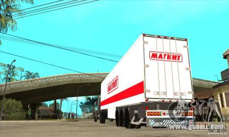 Trailer Magnit for GTA San Andreas right view