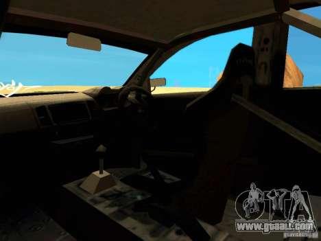 Mitsubishi Lancer Evolution X Time Attack for GTA San Andreas upper view