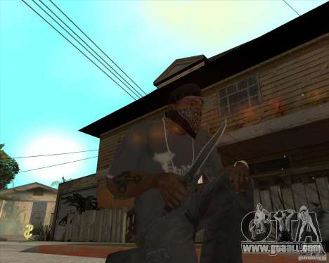 Rambo HD for GTA San Andreas