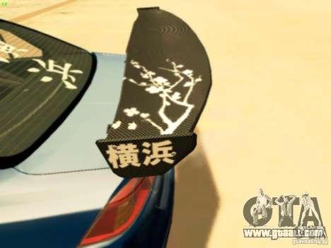 Mitsubishi Lancer Evolution X Time Attack for GTA San Andreas right view
