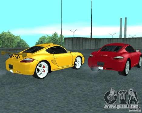 Porsche Cayman S for GTA San Andreas right view