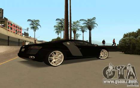 Audi R8 Le Mans Quattro for GTA San Andreas left view