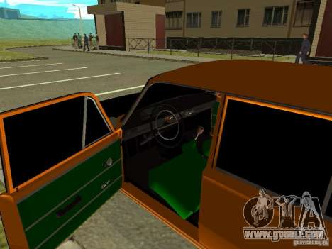 VAZ 2102 for GTA San Andreas back view