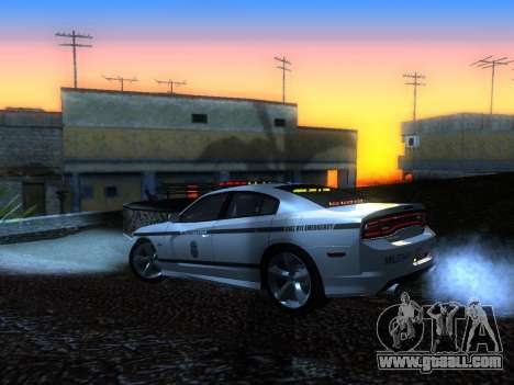 Dodge Charger SRT8 Police for GTA San Andreas left view