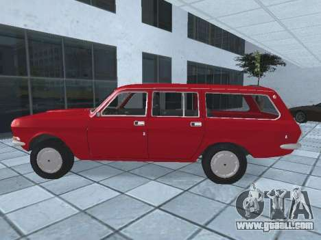 GAZ 24-12 v 2. for GTA San Andreas left view