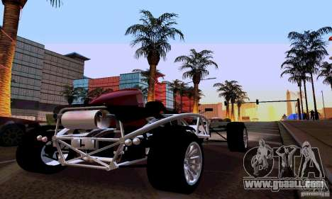 Ariel Atom for GTA San Andreas back left view